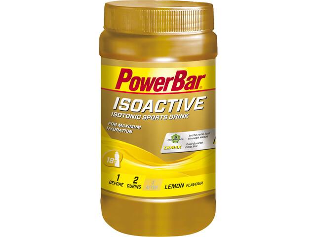 PowerBar Isoactive Isotonic Sports Drink Tub 600g Lemon
